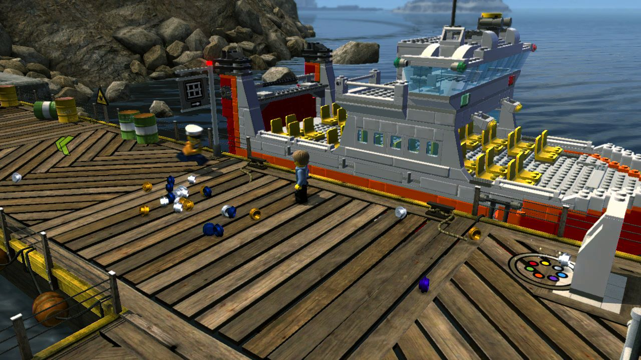 Lego city undercover screens pure nintendo