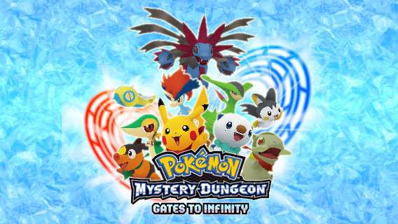 Pokémon Mystery Dungeon: Gates to Infinity to Release on March 24 for Nintendo 3DS