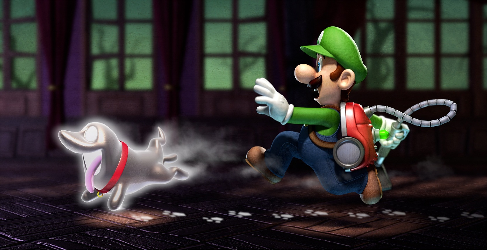 Multiplayer Mode Makes a Ghostly Appearance in Luigi's Mansion: Dark Moon