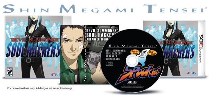 SMT: Devil Summoner: Soul Hackers Boxed Set and Game Cover Art Unveiled