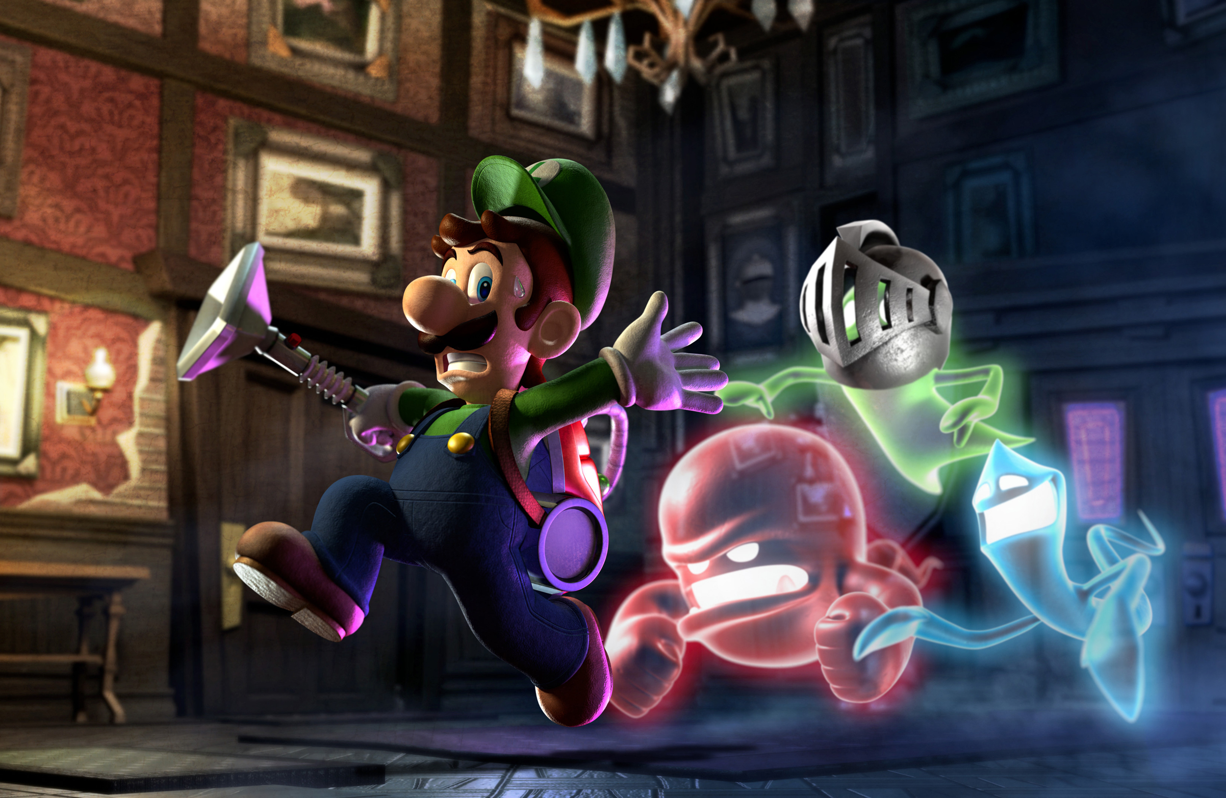 WII U AND NINTENDO 3DS release list for 2013 – LEGO City Undercover, Luigi's Mansion and more dated