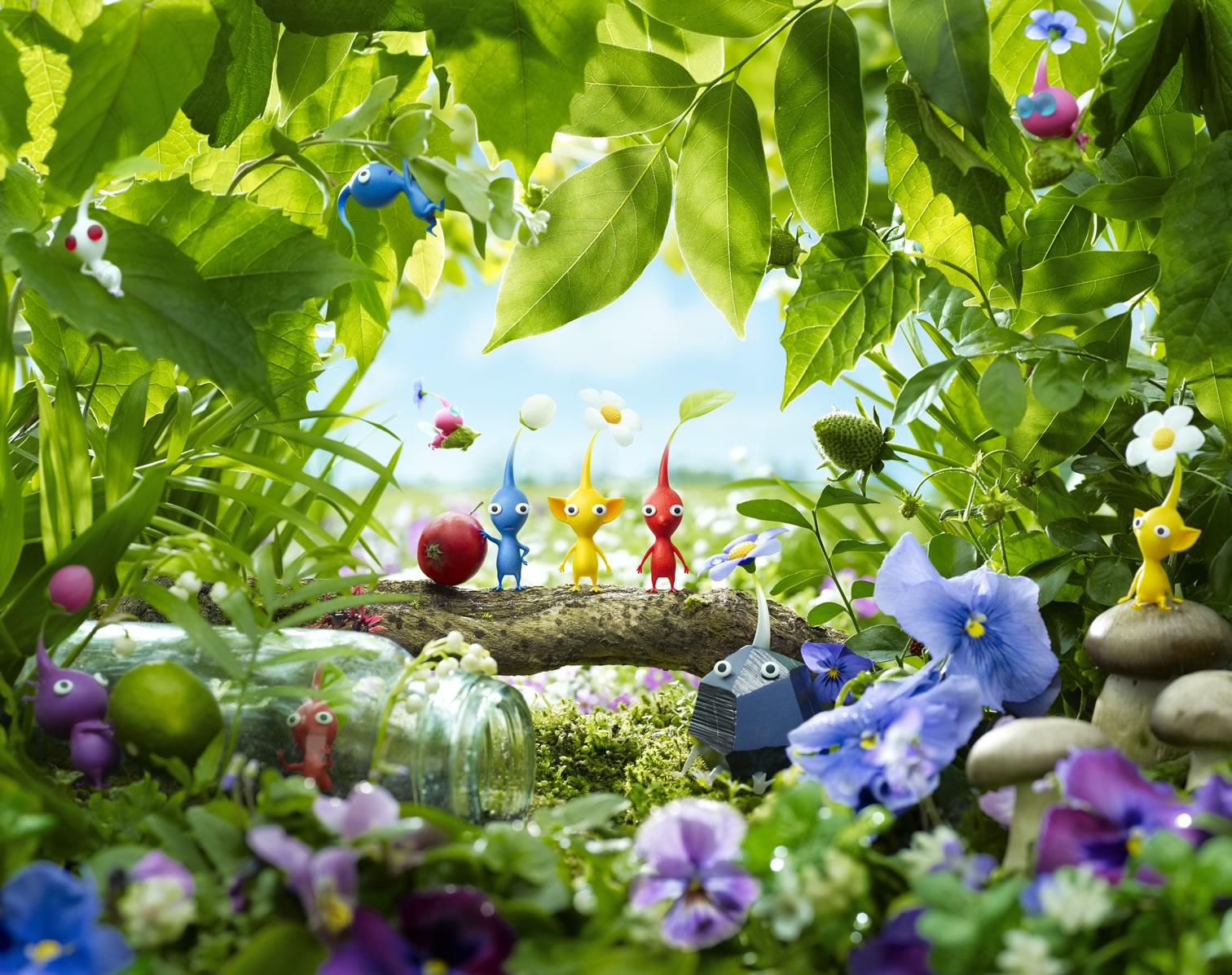 String of Major Monthly Releases for Wii U Kicks off with Pikmin 3
