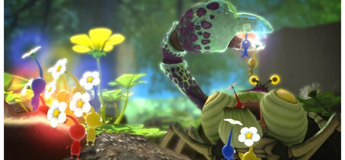 Beautiful new Pikmin 3 Screens