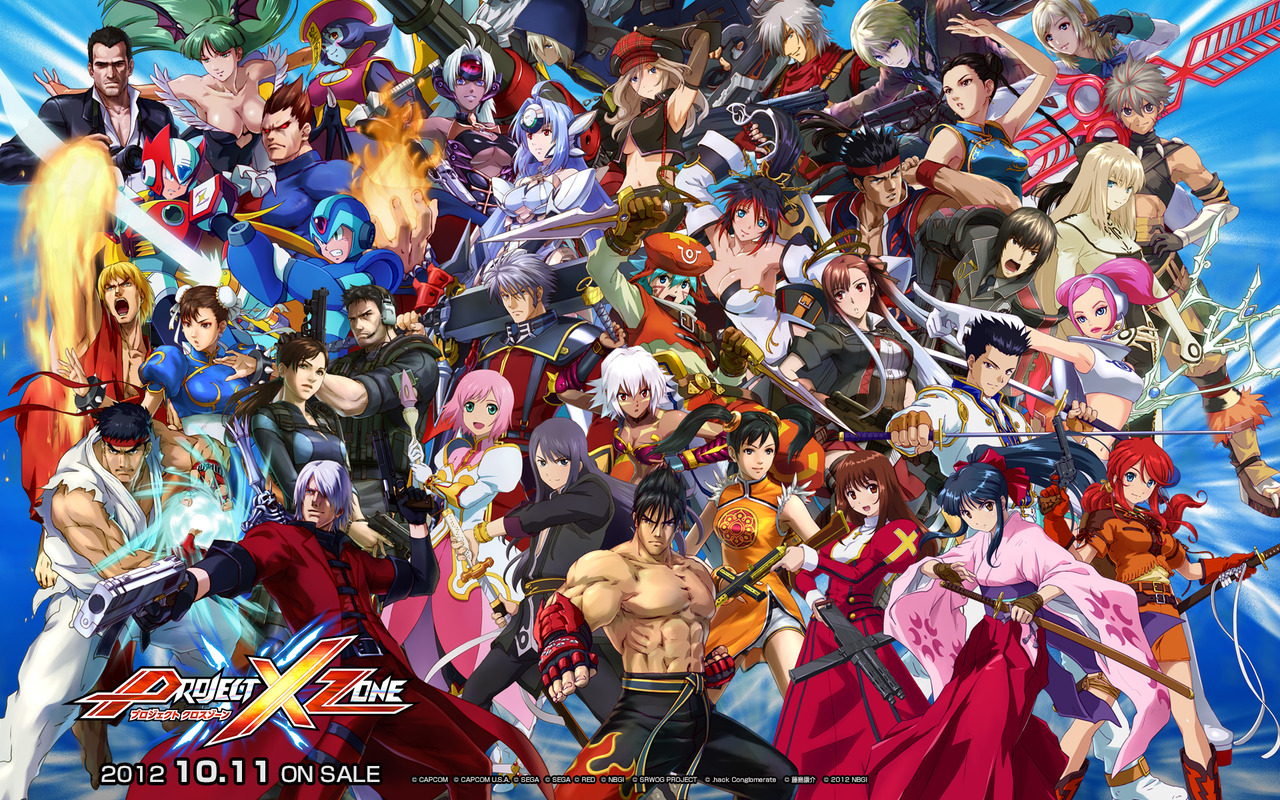 Project X Zone Coming to North America and Europe