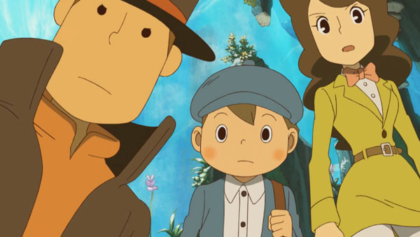 First 70 minutes of Professor Layton and the Azran Legacies