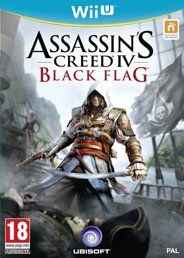 Assassin's Creed 4: Black Flag Confirmed For Wii U – Boxart