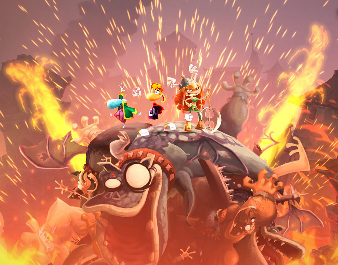 Rayman Legends Challenge Mode coming to eShop this Thursday, April 25