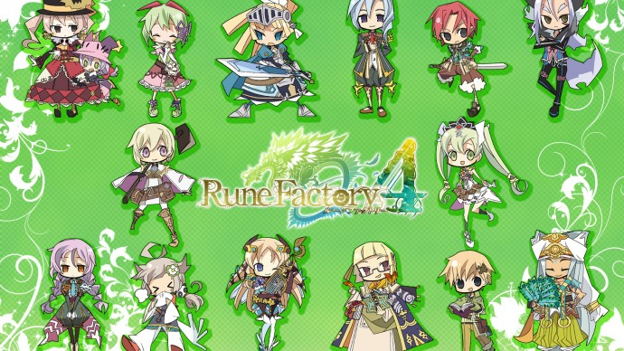 Rune Factory 4 (3DS) – First 70 Minutes