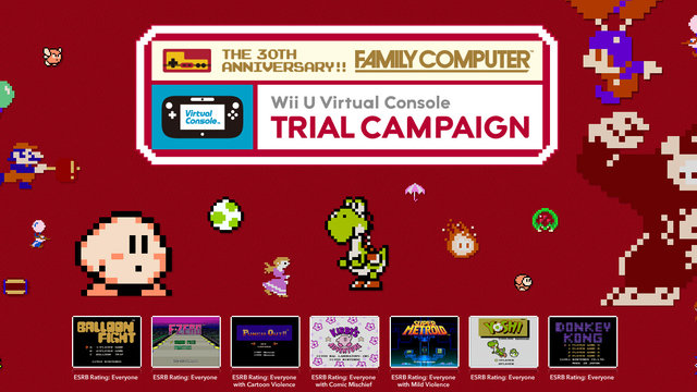 Full List Of Wii U Virtual Console Launch Titles