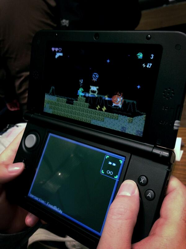 Looks like Gero Blaster will be coming to the 3DS