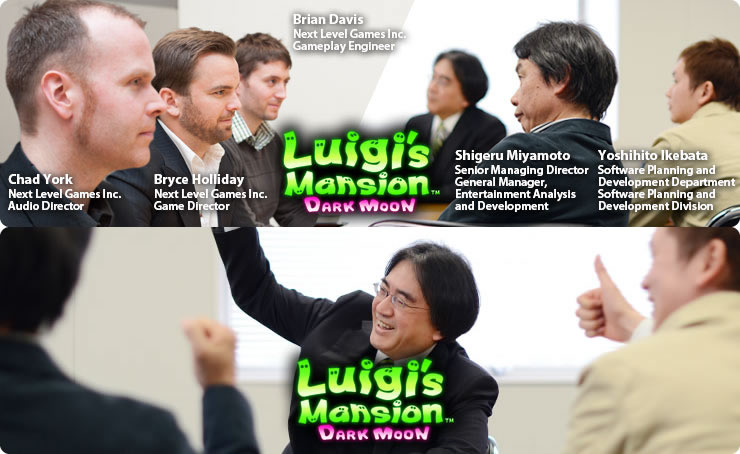 Iwata Asks: Luigi's Mansion Dark Moon