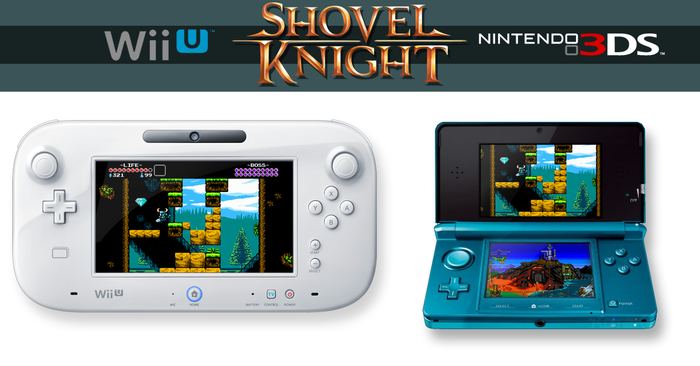 PR: Shovel Knight Unearthed for Wii U and Nintendo 3DS