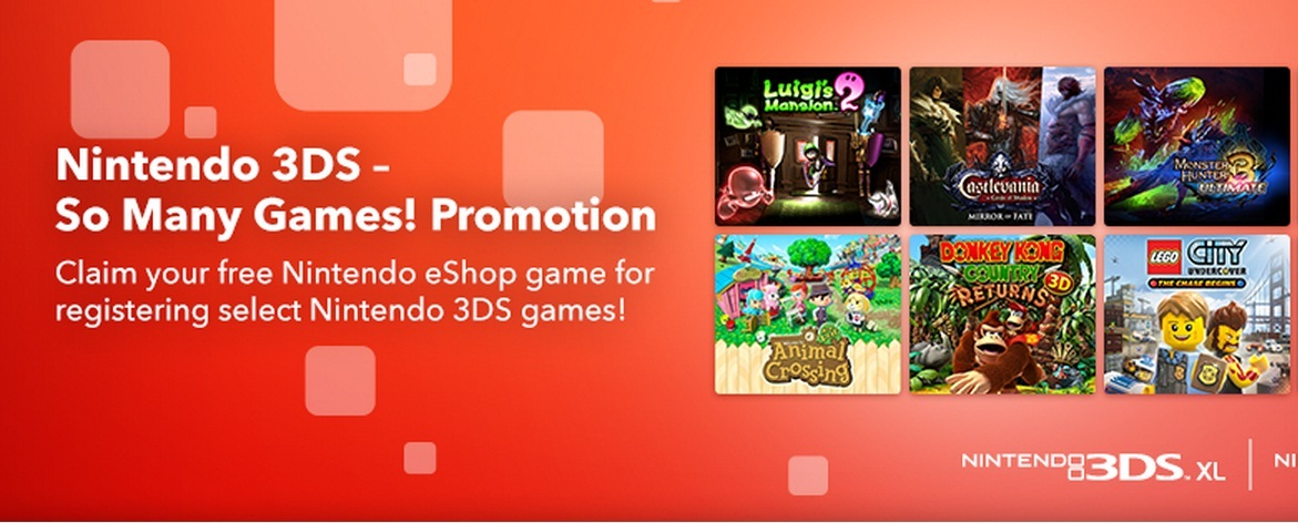 """Nintendo of Europe begins """"So Many Games"""" promotion."""