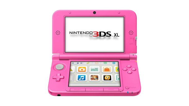 UK getting a Pink Nintendo 3DS XL
