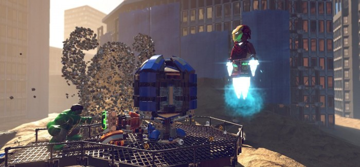 First LEGO Marvel Super Heroes screens