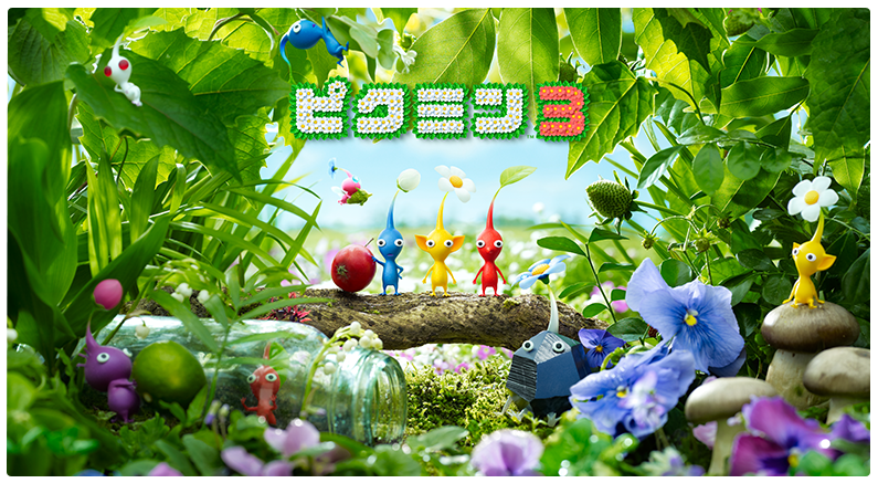 Pikmin 3 artwork shows off more Pikmin