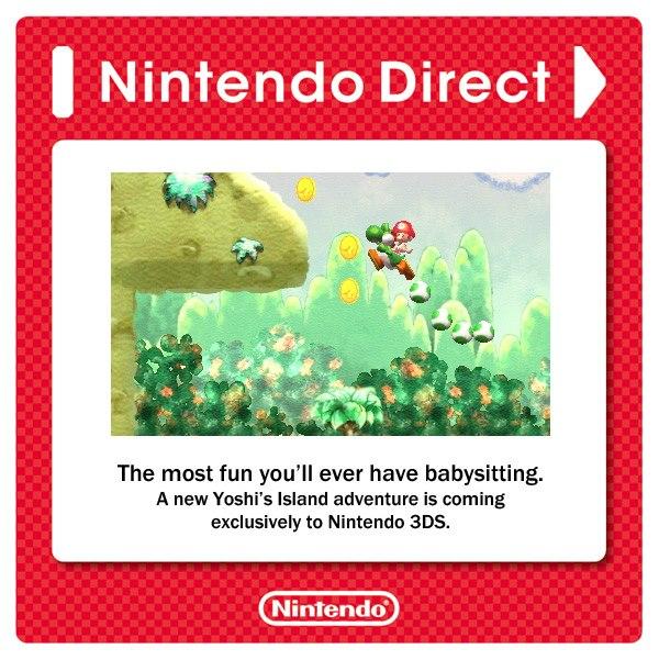 Yoshi's Island 3DS Video (April 2013 Nintendo Direct)