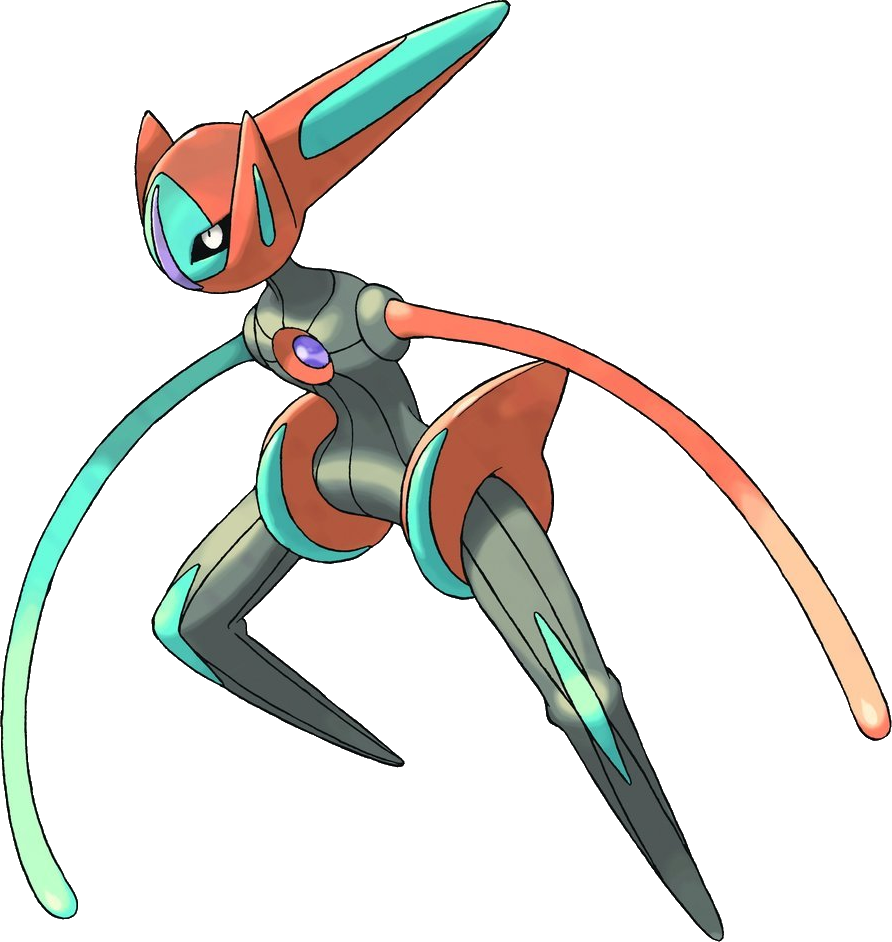 (UK) DNA Pokémon Deoxys Now Available in Pokémon Black 2, Pokémon White 2 and TCG