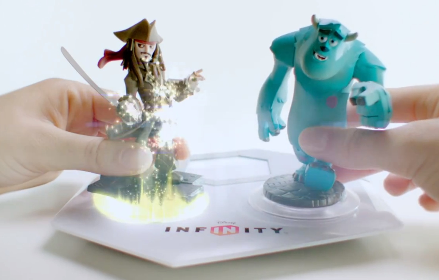 Disney Infinity – Barbossa, Davy Jones, Captain Jack Sparrow trailers