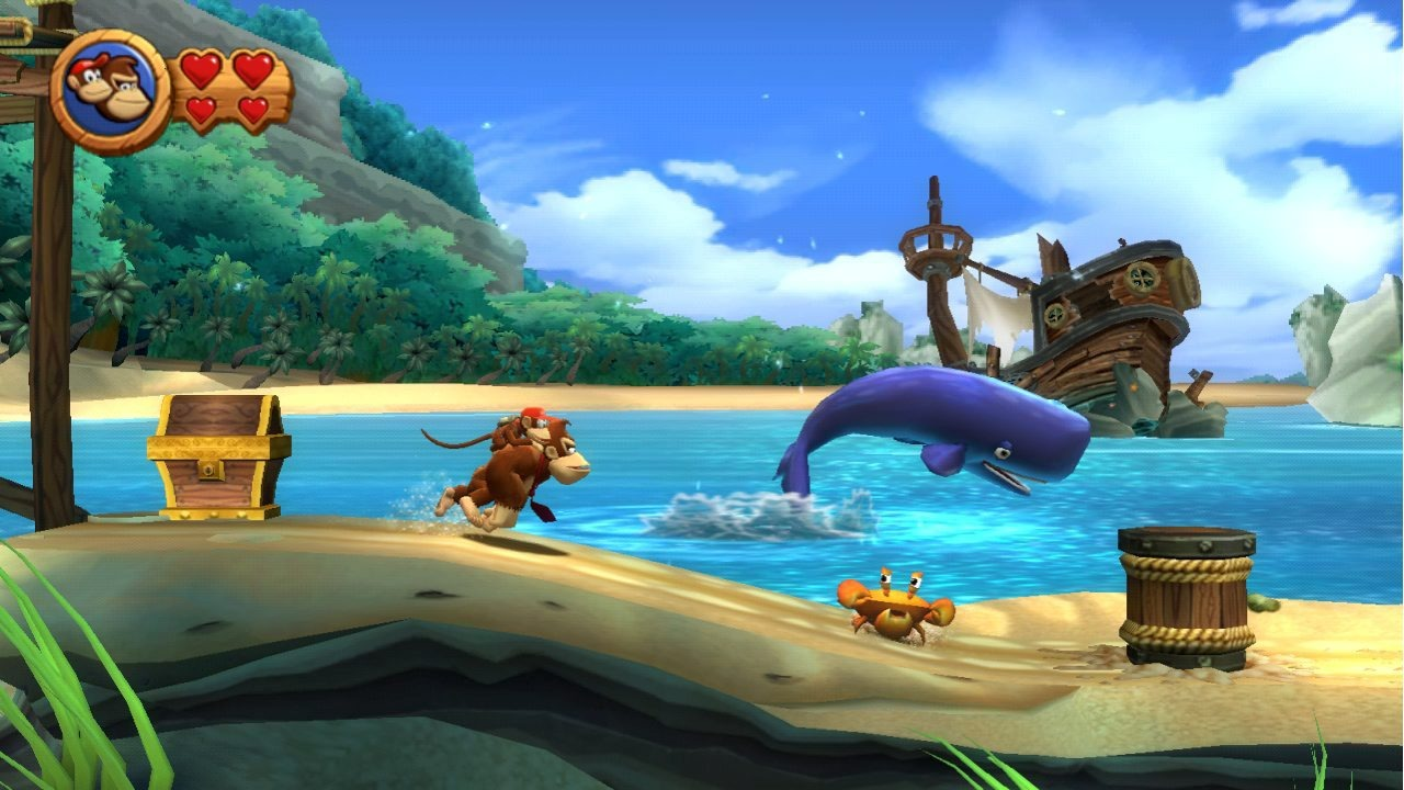 Donkey Kong Country Returns – Wii Vs. 3DS comparison
