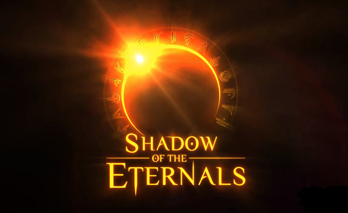 Shadow of the Eternals crowdfunding announcement.