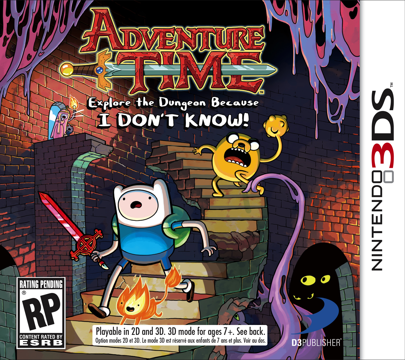 New Adventure Time box art unveiled.