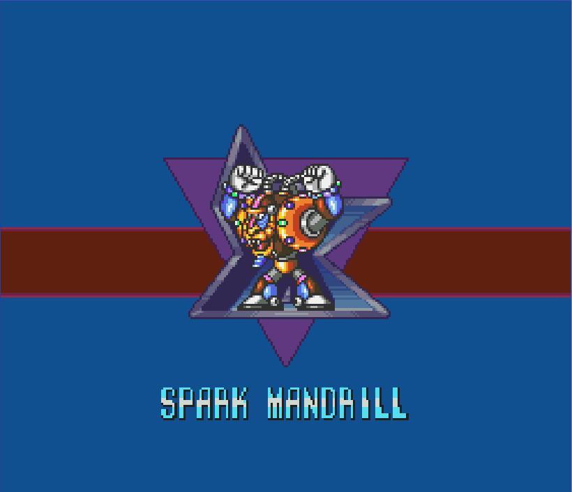 Mega Man X Spark Mandrill Acapella