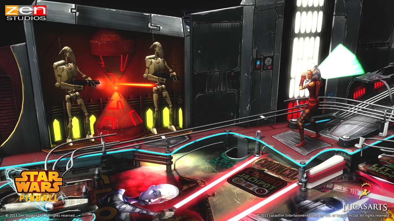 Star Wars Pinball - The Clone Wars
