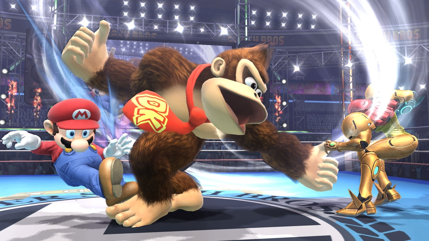 Smash Bros. Wii U and 3DS will not use touch screen controls
