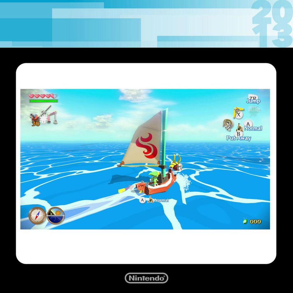 Wind Waker HD shown on #NintendoDirectNA