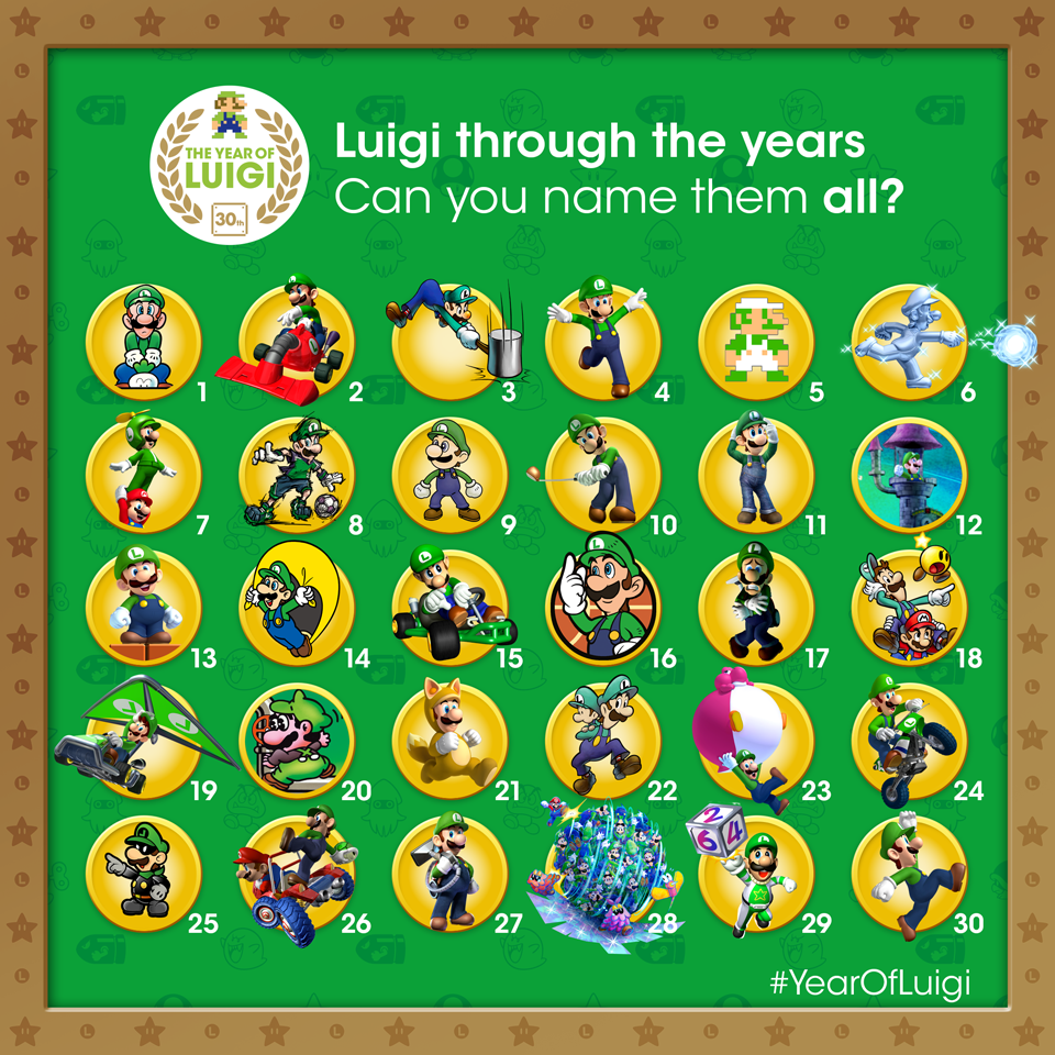 Miyamoto announces the end of the 'Year of Luigi'