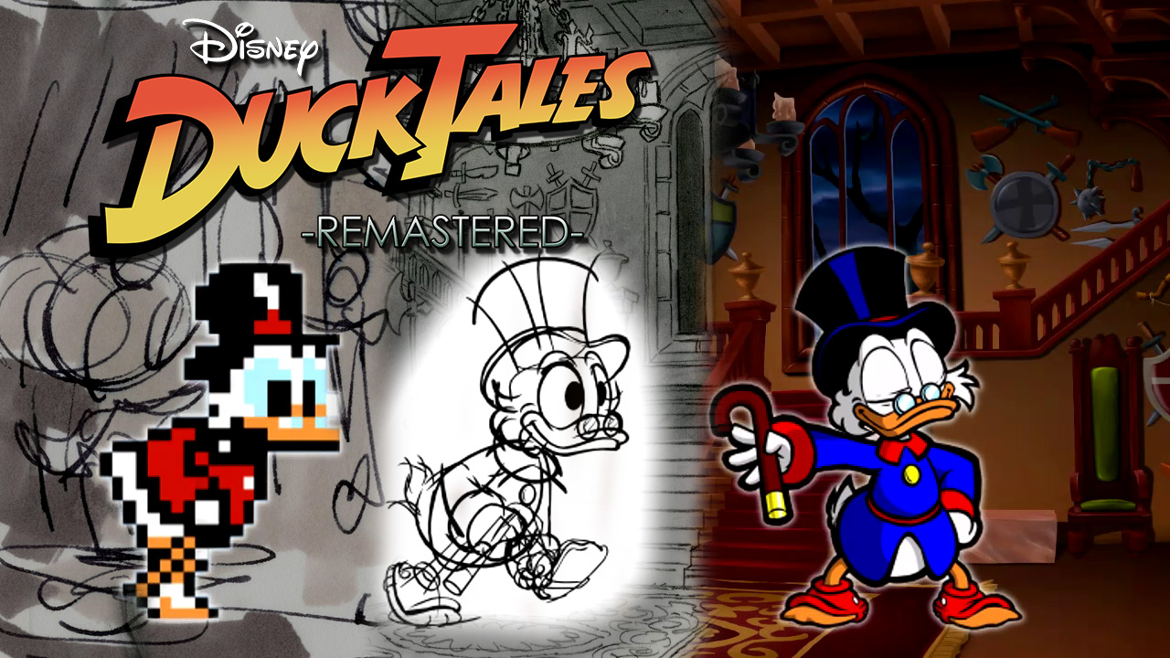 The Wii U will not be getting boxed version for DuckTales Remastered