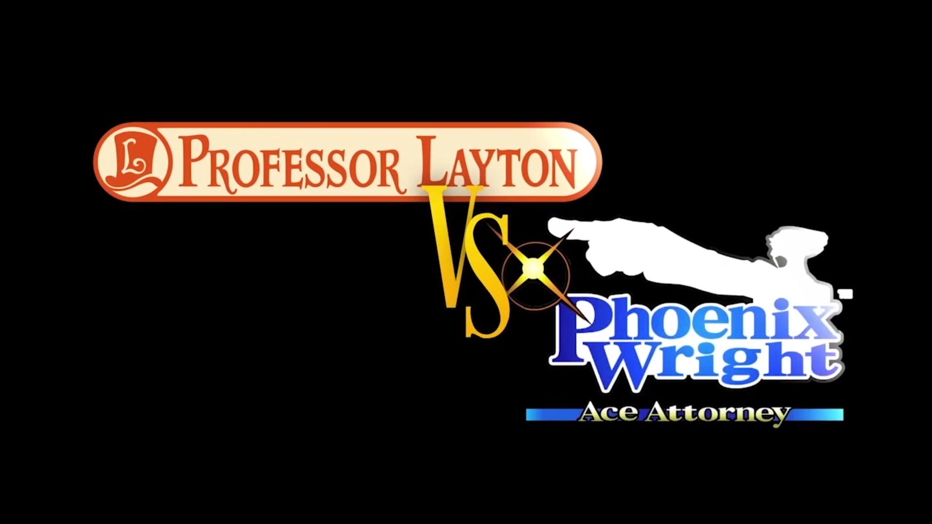 Phoenix Wright vs Professor Layton