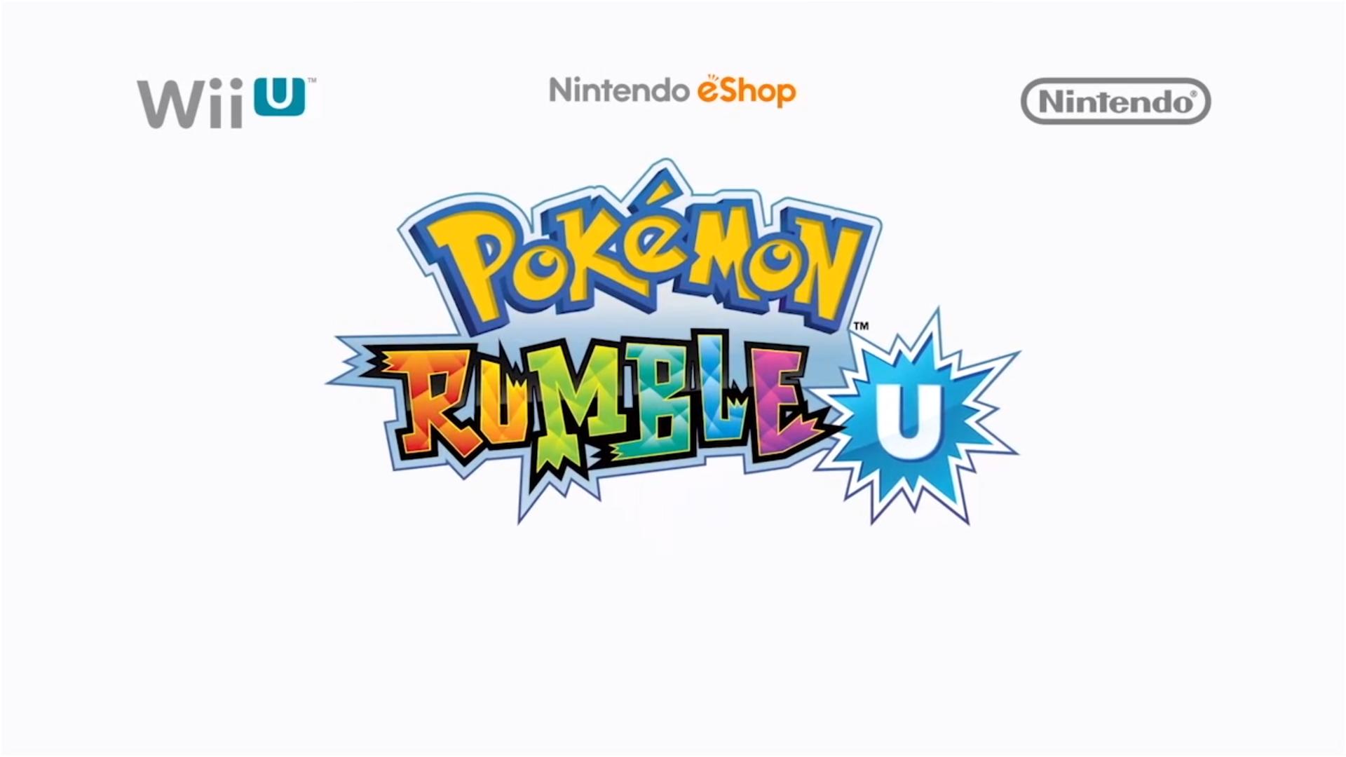 Pokémon Rumble U Arrives On Wii U eShop August 29th