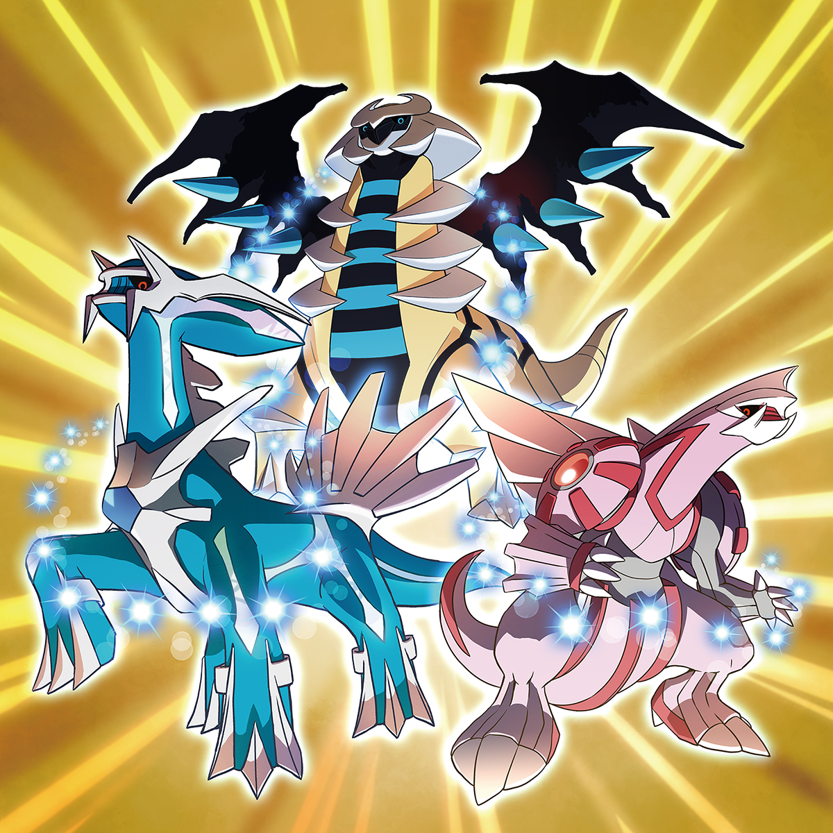 Get Your Extremely Rare Shiny Version of the Legendary Pokémon Dialga Only at GameStop Stores
