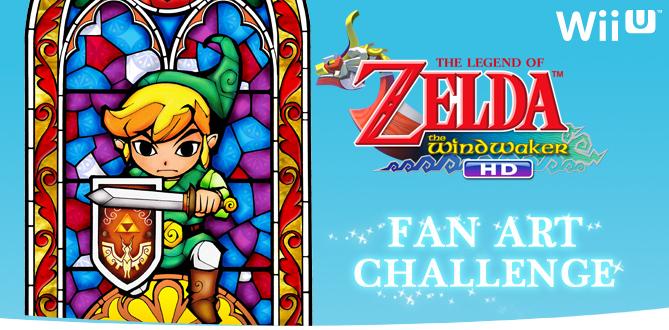 Nintendo Launches The Legend of Zelda: The Wind Waker HD Fan Art Contest