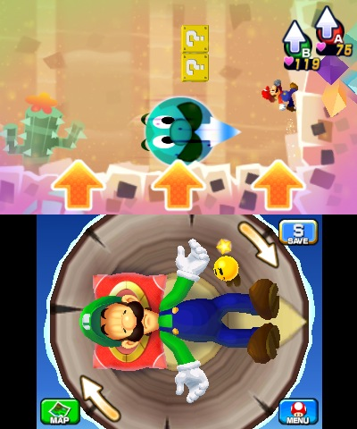 Pn Review Mario Luigi Dream Team Pure Nintendo