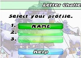 Letter challenge profile