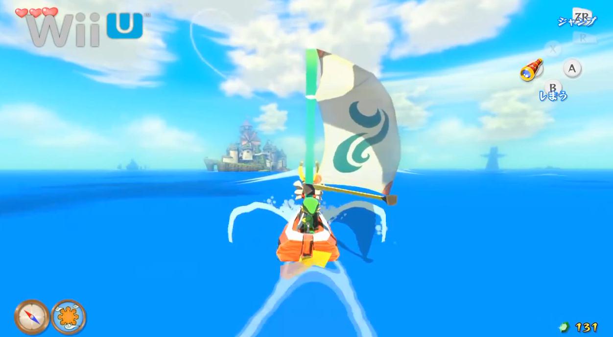 The Legend of Zelda: Wind Waker  – GC Vs. Wii U comparison video