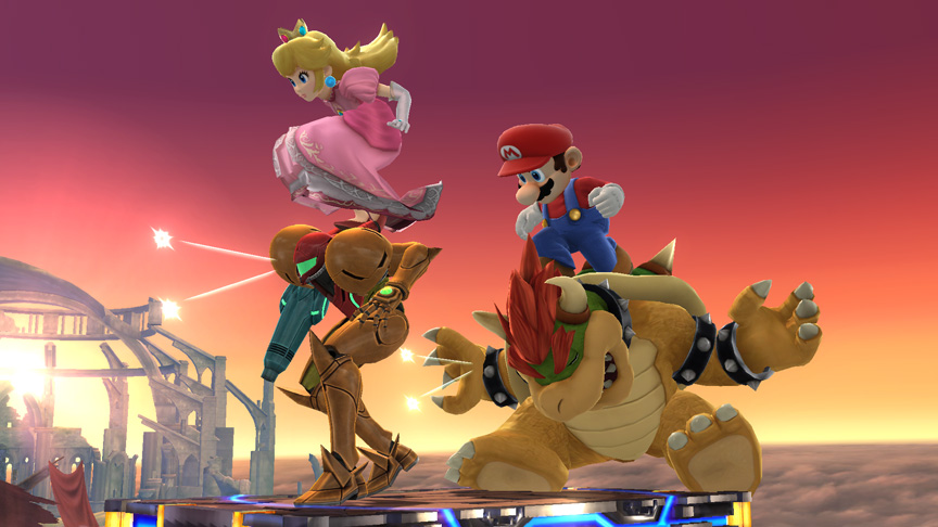 Super Smash Bros Screen