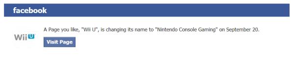 Wii U rebrand