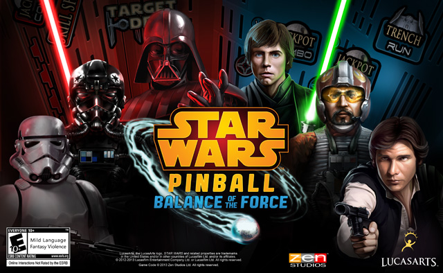 Star Wars Pinball: Balance of the Force Coming Soon for Download