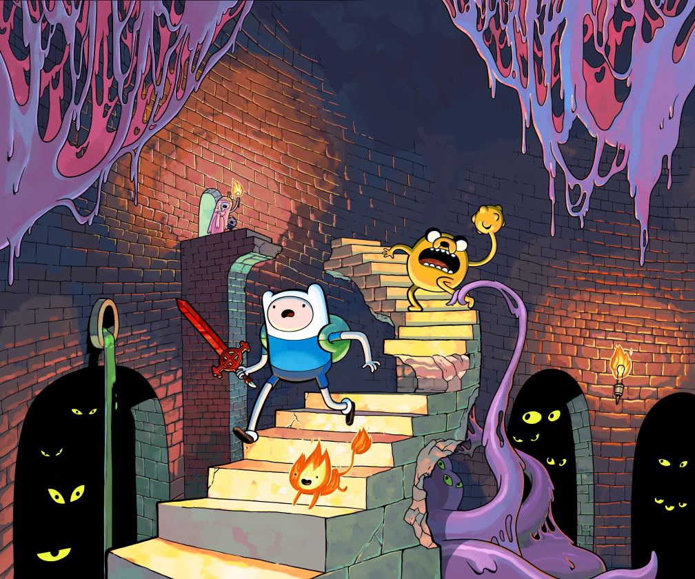 New Screens for Adventure Time: EXPLORE THE DUNGEON CAUSE….I DON'T KNOW!