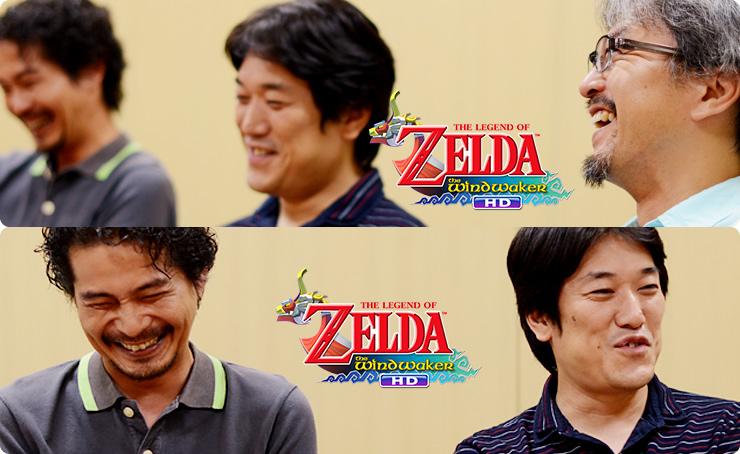 Iwata Asks: The Legend of Zelda Wind Waker HD