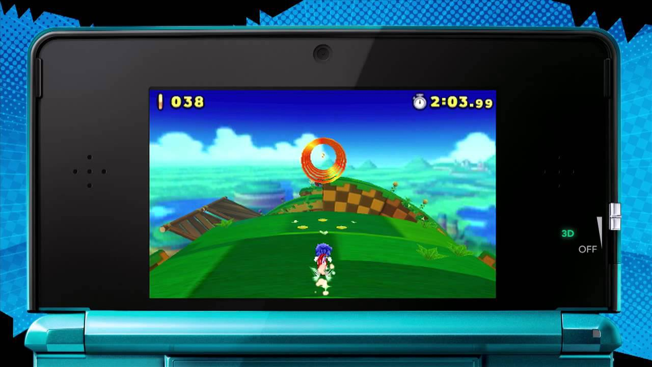 Sonic Lost World 3DS footage