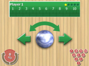 bowling bonanza touch screen
