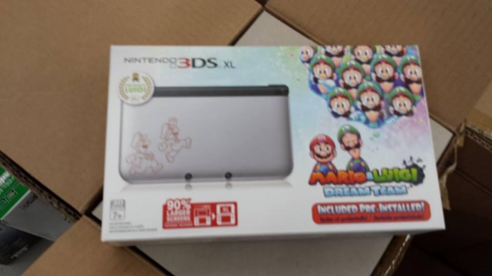 Rumor Silver Luigi Edition With Mario Luigi Dream Team Nintendo
