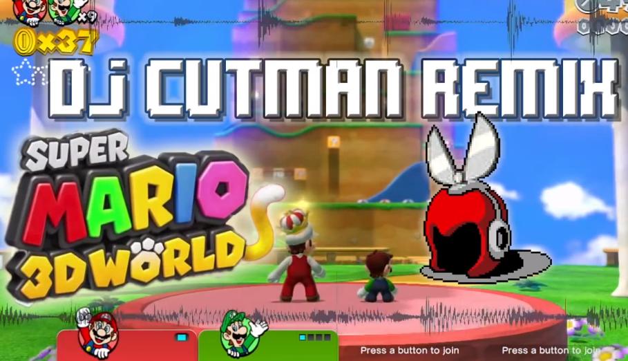 Dj CUTMAN – Super Mario 3D World Hiphop Remix & Making of
