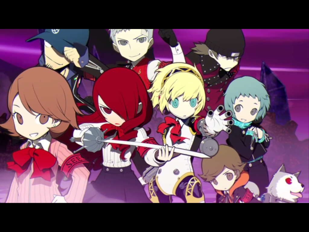 Persona Q: Shadow of the Labyrinth for 3DS Heading West