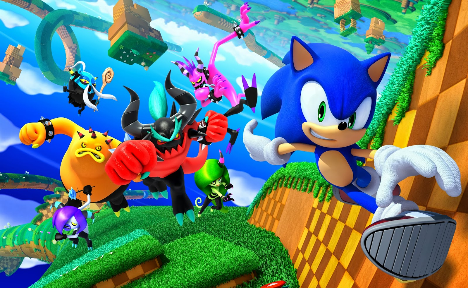 Sonic: Lost World Concept Art
